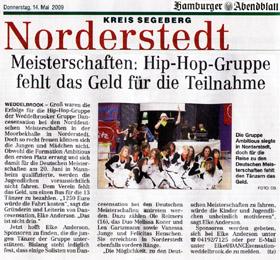 f1f6c5c07c 03.2009 iMPOSSIBLE - der Chor hat seine erste Vorführung bei der  Jahreshauptversammlung des TSV Weddelbrook